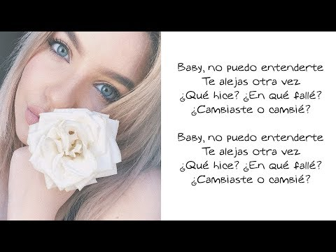 Changes (Spanish Version) - Karen Méndez (LETRA)
