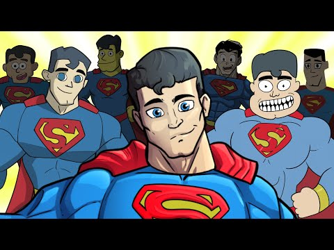 GUESS THE STYLE! - Drawing Superman in 10 Art Styles