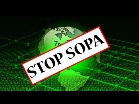 Wikipedia and Reddit blackout to protest SOPA and PIPA
