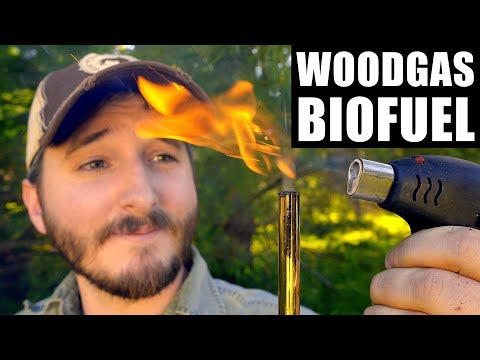 Testing A Better Wood Gassifier (Bio Gas Fuel)