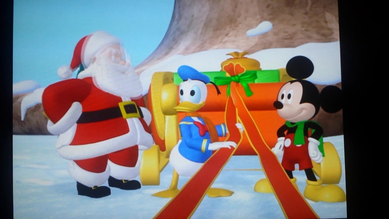 mickey mouse club house mickey saves santa online