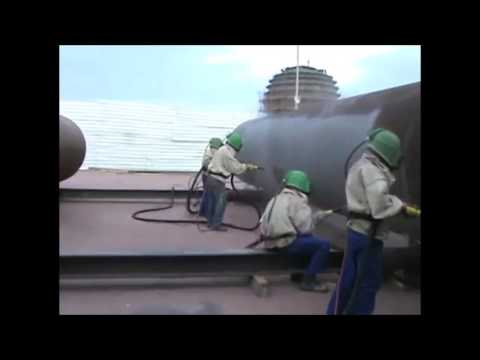 OTECO SandBlasting & Painting system for Tanks