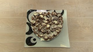 Рецепт шоколадного пирога из блинов
