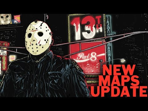 NEW MAPS UPDATE !!! - Friday The 13th: The Game