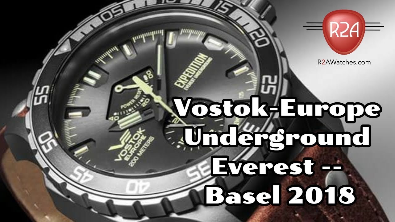 Vostok-Europe Expedition Everest Automatic // YN84/597A544 video thumbnail