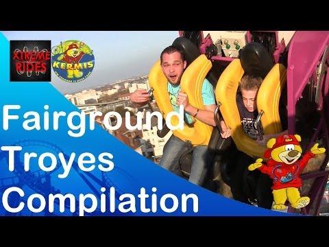 Great Fairground Troyes France Compilation