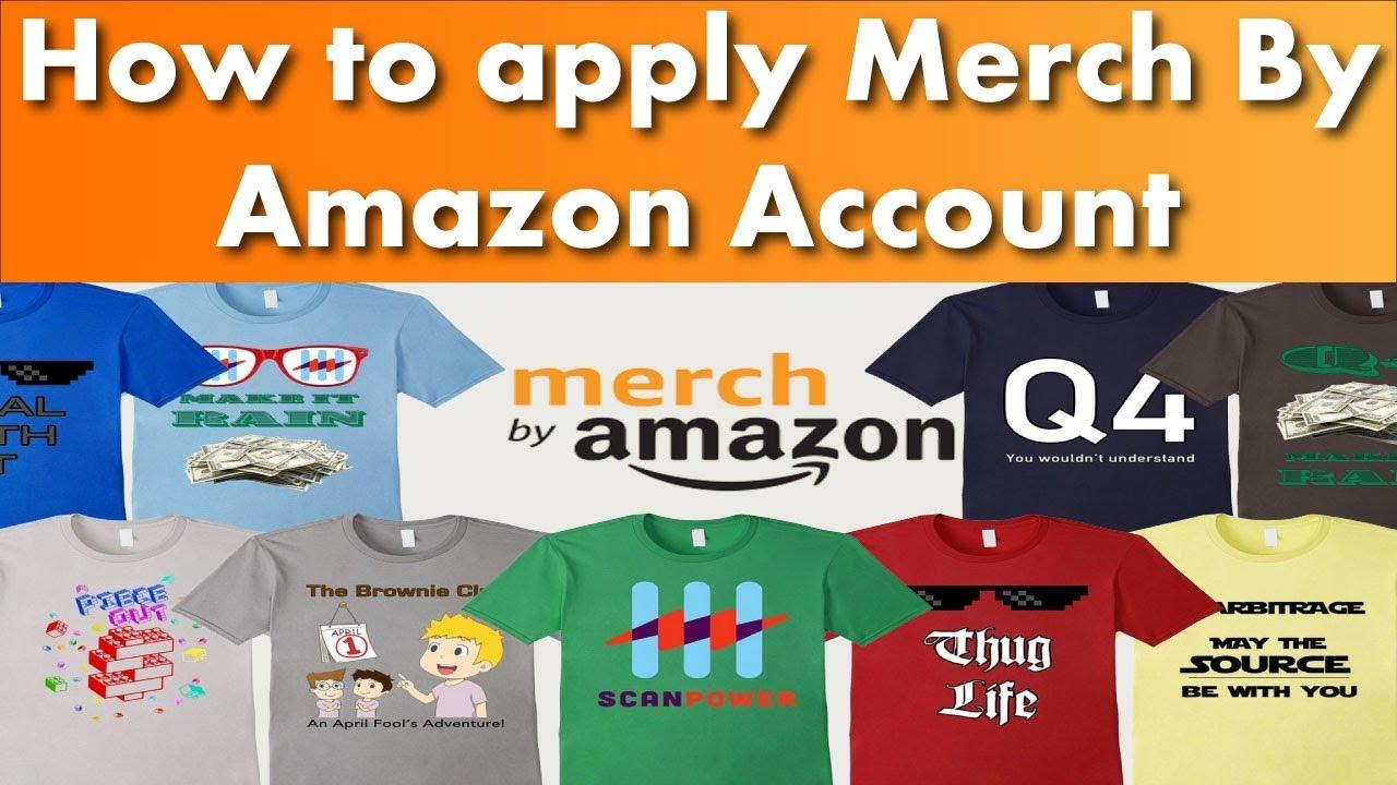 amazon merch account kaufen