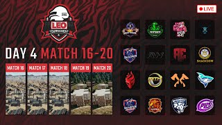 🔴LEO PUBG Tournament DAY4