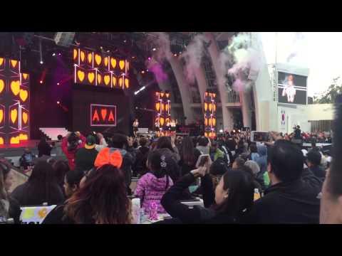 "[Fancam] 160507 AOA ""Heart Attack"" KTMF Korea Times Music Festival 2016"