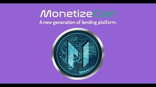 New Lending ICO - Monetize Coin - Competitive Round 1!