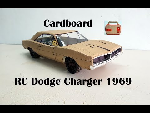 WOW! Super Dodge Charger 1969|| How to make old Dodge car with cardboard|| DIY|| Electric toy car