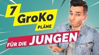 7 GroKo Pläne für die JUNGEN in 5 Minuten!