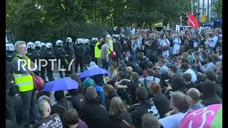 LIVE: Protesters march in Hamburg against G20 Summit