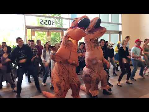 CSAA Insurance Group Halloween Flash Mob