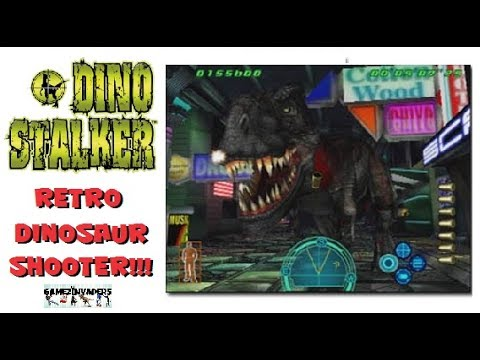 Capcom's DINO STALKER! (Gun Survivor 3) Retro Dinosaur Gun Game!! Stage 2