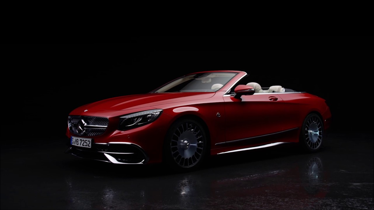 das neue mercedes-maybach s 650 cabriolet - youtube