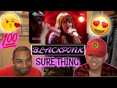 BLACKPINK - SURE THING (Miguel) COVER Reaction [I LOVE THEM!!!]