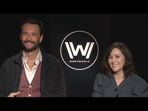 'Westworld' Season 2: Shannon Woodward and Rodrigo Santoro FULL