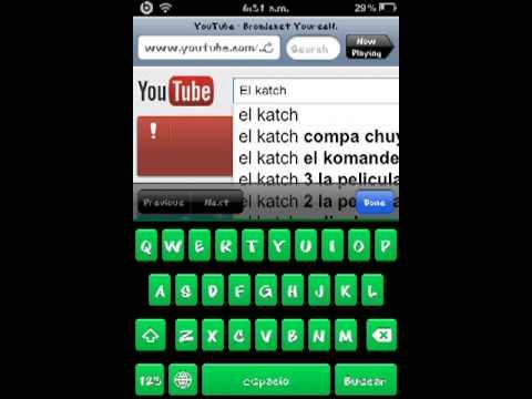 bajar musica de youtube con iphone