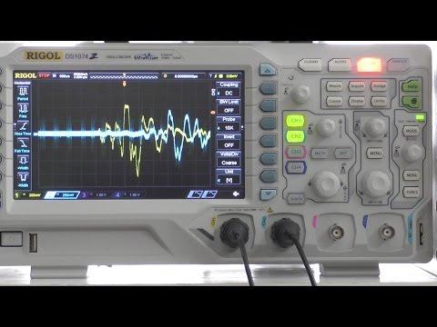 Spass mit dem Oszilloskop: Schallgeschwindigkeit