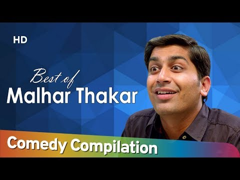 Best Of Malhar Thakar | Comedy Scene Compilation | Chello Diwas | Thai Jashe | Passport