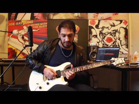 How to play 'Purple Rain' by Prince Guitar Solo Lesson with Chis Zoupa bobbys backing track