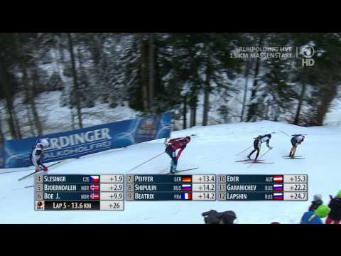 3er Photofinish in Ruhpolding
