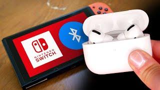 Nintendo Switch adds Bluetooth (finally)