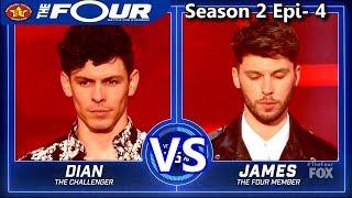 """james graham vs dian rene """"human nature"""" the four season 2 ep 4 s2e4"""