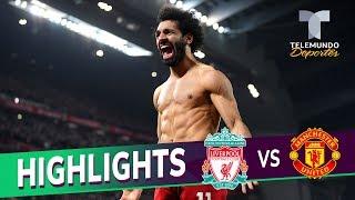 Liverpool vs. Manchester United: 2-0 Goals & Highlights | Premier League | Telemundo Deportes
