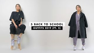 5 Back To School Outfits (pt. 2)