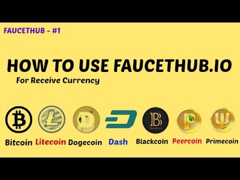 HOW TO USE FAUCETHUB.IO FOR RECEIVE & SEND CURRENCY [ HINDI VIDEO ]