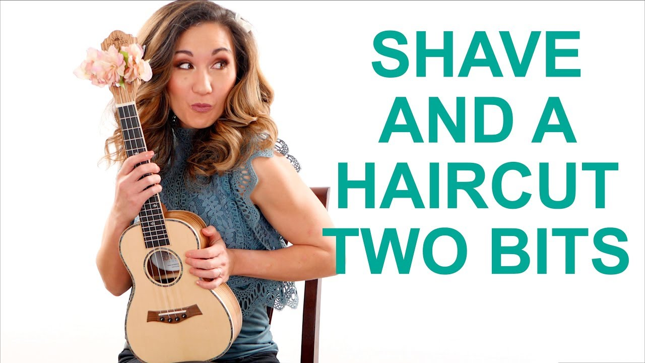 Shave And A Haircut Two Bits Ukulele Tutorial Random Riff Friday