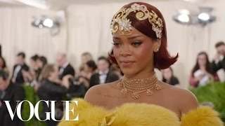 Rihanna at the Met Gala 2015 | China: Through the Looking Glass
