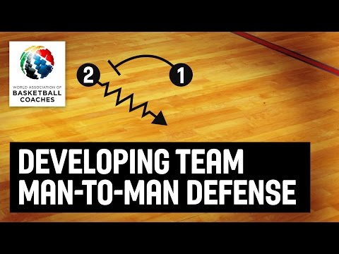 Developing Team Man-To-Man Defense - Dwayne Casey  - Basketball Fundamentals