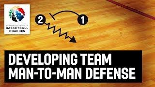 Developing Team Man-To-Man Defense - Dwayne Casey  - Basketball Fundamentals