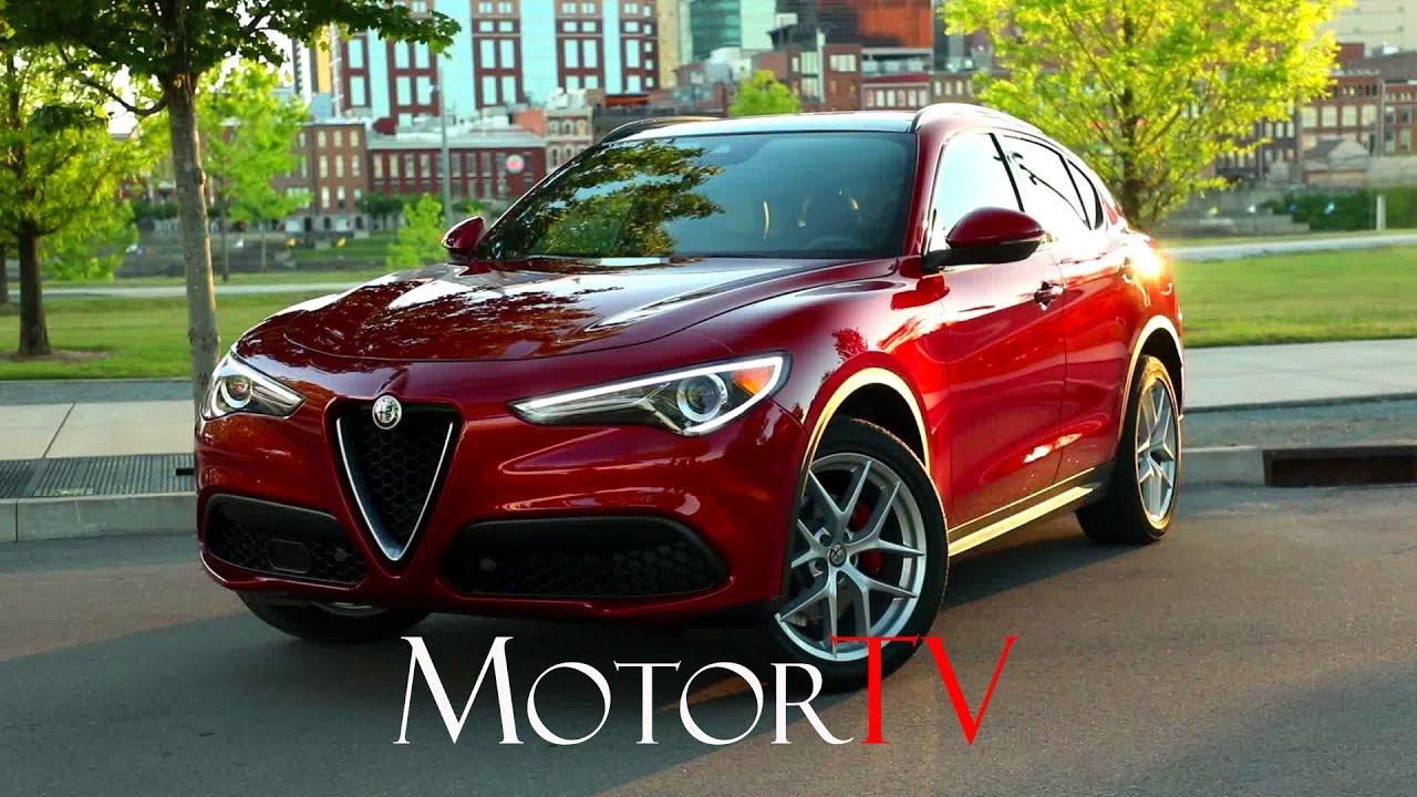 Suv 2018 Alfa Romeo Stelvio Q4 Ti Sport Us L Exterior Interior