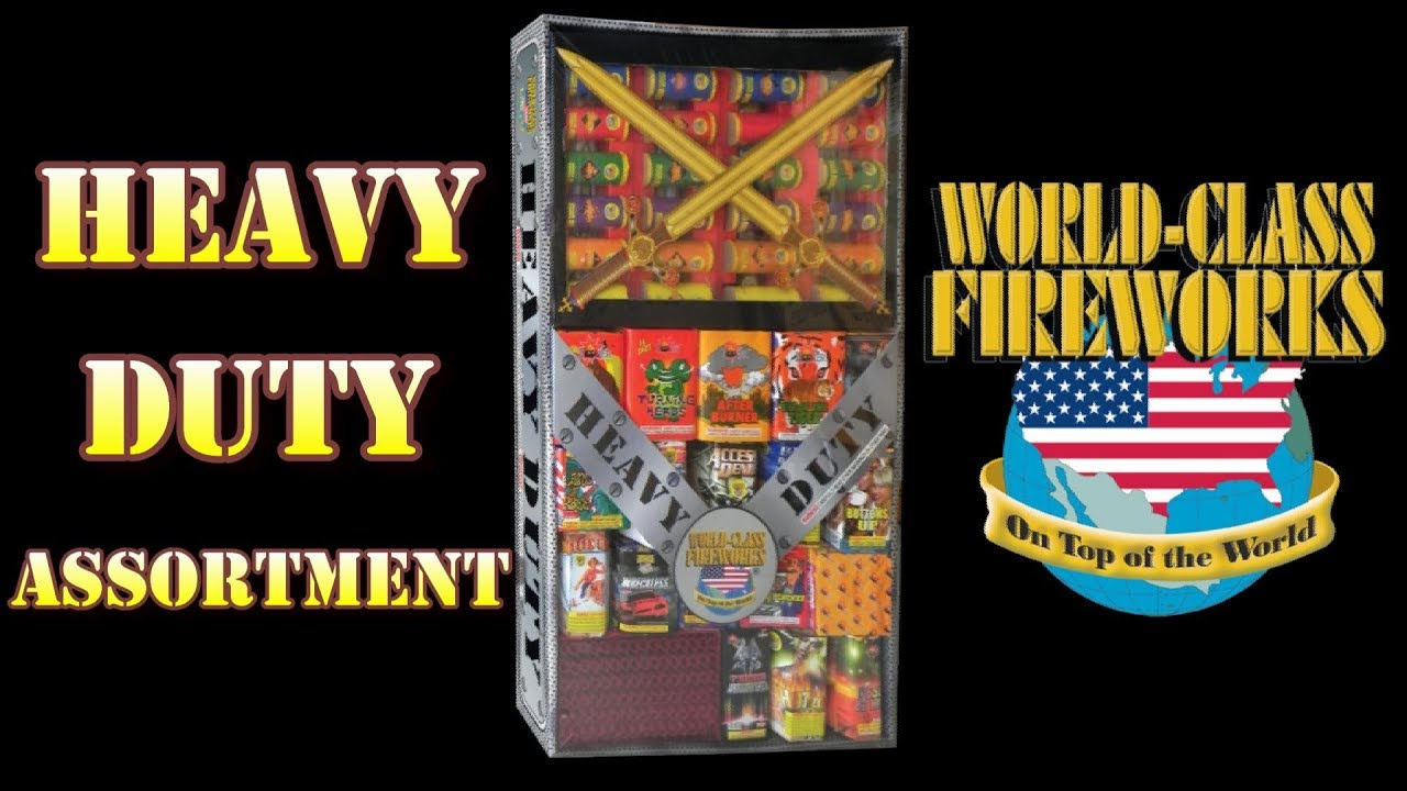 Fireworks Demo (Assortment) - Heavy Duty (World Class) - *RECOMMENDED ITEM*