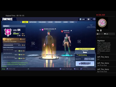 Fortnite Battle Royale Duo series with FoxyGamer #1