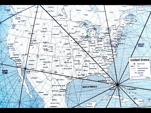 Ancient Civilizations Energy Grid Lines in America