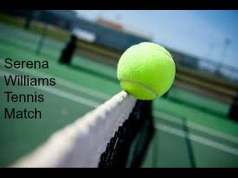 Serena Williams Tennis match