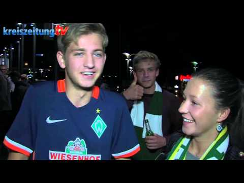 Claudio Pizarro in Bremen gelandet