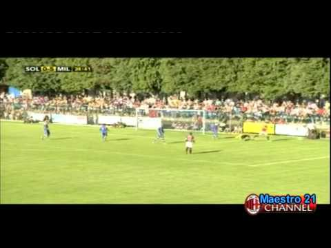 Ibrahimovic vs Solbiatese - 20/07/2011
