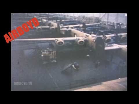 Women On The Warpath (1943) - Inside The Willow Run B-24 Plant