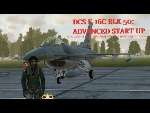 DCS F16 In-Depth Start Up