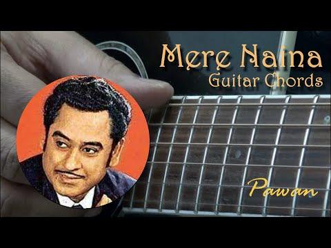 Mere Naina Saawan Bhadon - Guitar Chords Lesson by Pawan