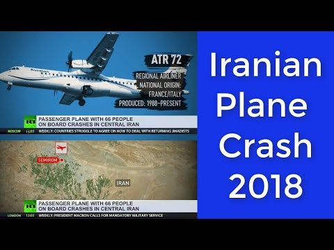 Iranian Aseman Airlines plane with 66 on board crashes midflight #Iran #RT #CNN
