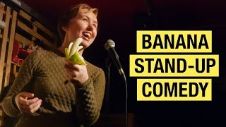 Science stand-up comedy that's completely bananas