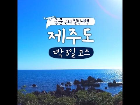 [제주] 중문 근처 힐링여행 제주도 2박 3일 코스