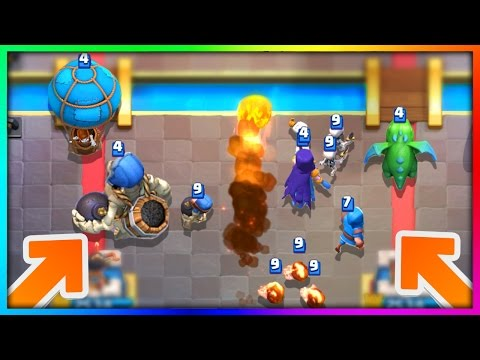 """WHAT HAPPENS IF YOU USE an """"ALL SPLASH"""" DAMAGE DECK in Clash Royale!"""